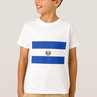 Camiseta ¡Bajo costo! Bandera de El Salvador