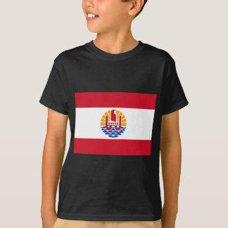 Camiseta ¡Bajo costo! Bandera de Polinesia francesa