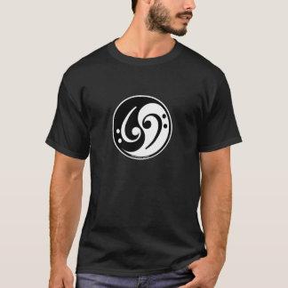 Camiseta bajo de yin-Yang