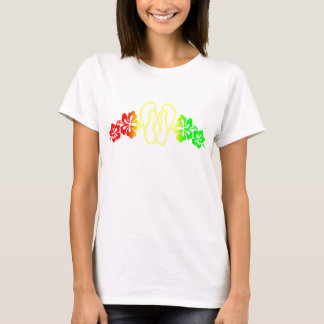 Camiseta Balanceo del hibisco