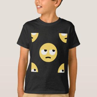 Camiseta balanceo del ojo del emoji