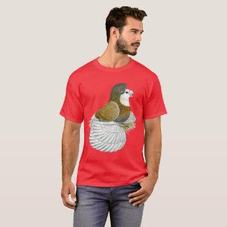 Camiseta Baldhead de AOC de la paloma del trompetista