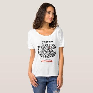 Camiseta ¡Ballena de BW para una causa!