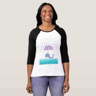 Camiseta Ballena de la natación
