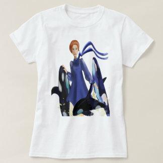Camiseta Ballenas azules