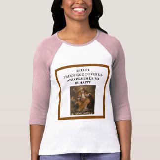 Camiseta ballet