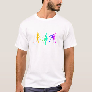 Camiseta Ballet del arco iris