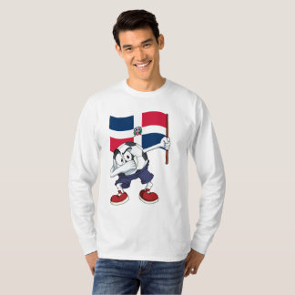 Camiseta Balón de fútbol de la República que frota