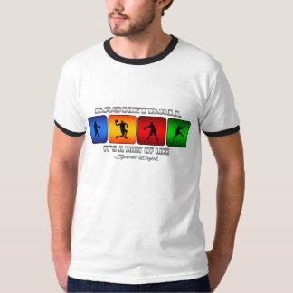 Camiseta Baloncesto fresco es una manera de vida