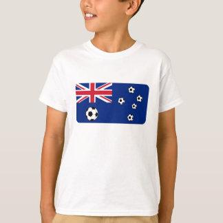 Camiseta Balones de fútbol australianos de la bandera
