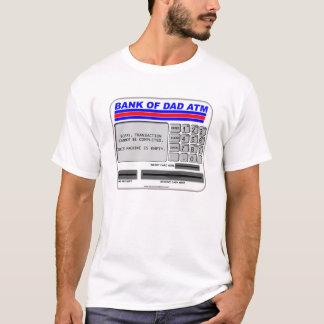 Camiseta Banco de la atmósfera del papá