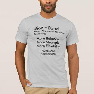 Camiseta Banda Bionic, resonancia Technol de la alineación