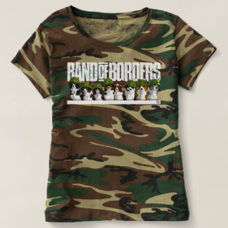 Camiseta Banda de fronteras - camuflaje