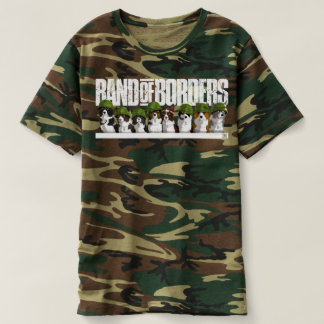 Camiseta Banda de las fronteras - hombres del camuflaje