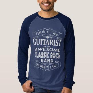 Camiseta Banda de rock clásica impresionante del