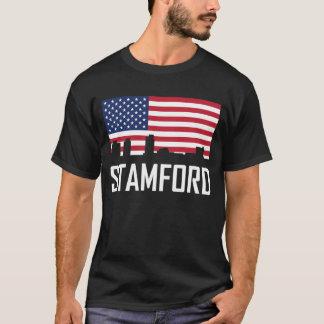 Camiseta Bandera americana del horizonte de Stamford