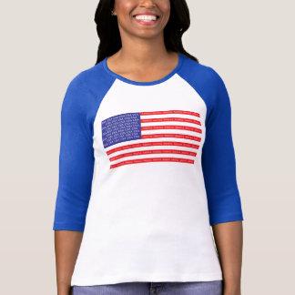 Camiseta Bandera americana ruidosa y orgullosa