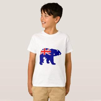 Camiseta Bandera australiana - oso polar