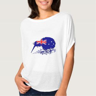 Camiseta Bandera australiana - pájaro del kiwi