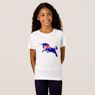 Camiseta Bandera australiana - unicornio