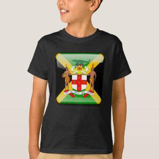 Camiseta Bandera brillante jamaicana