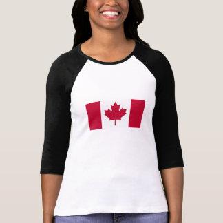 Camiseta Bandera canadiense