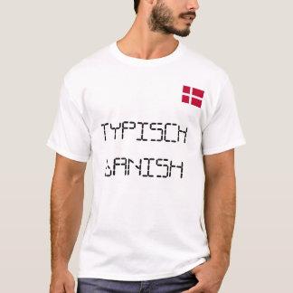 Camiseta Bandera danesa