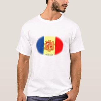 Camiseta Bandera de Andorra