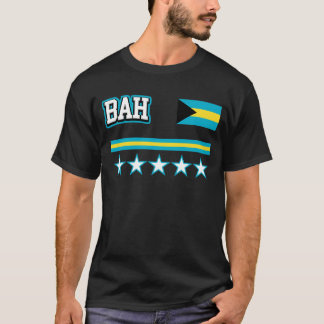 Camiseta Bandera de Bahamas