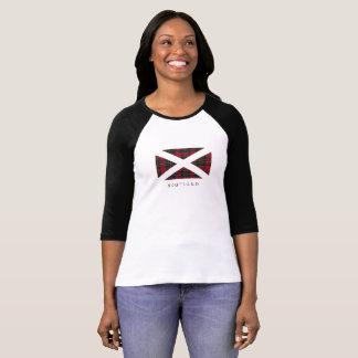 Camiseta Bandera de Escocia (texto negro)