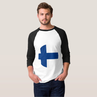 Camiseta Bandera de Finlandia