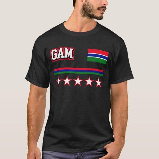 Camiseta Bandera de Gambia