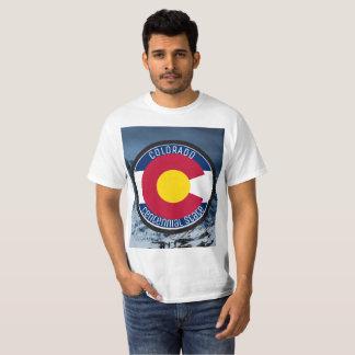 Camiseta Bandera de la circular de Colorado