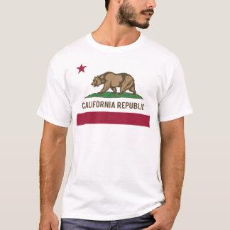 Camiseta Bandera de la república de California - color
