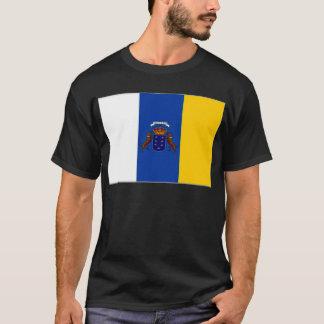 Camiseta Bandera de las islas Canarias de España