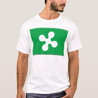 Camiseta Bandera de Lombardía (Italia)