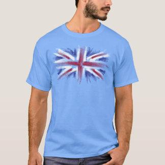 Camiseta bandera de Reino Unido del Union Jack