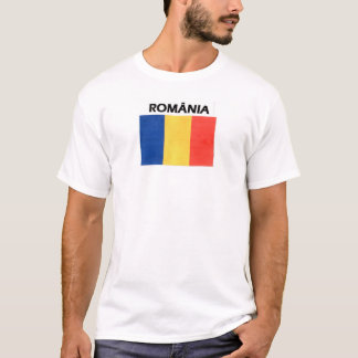 Camiseta Bandera de Rumania