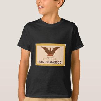 Camiseta Bandera de San Francisco - retra