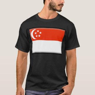 Camiseta Bandera de Singapur