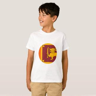 Camiseta Bandera de Sri Lanka