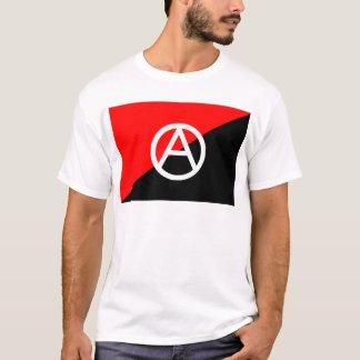 Camiseta Bandera del anarquista con símbolo de A