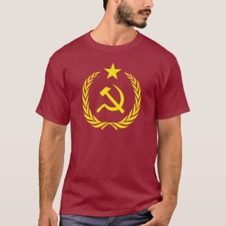 Camiseta Bandera del comunista de la guerra fría de la