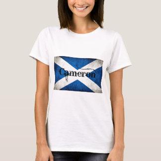 Camiseta bandera del grunge de Cameron
