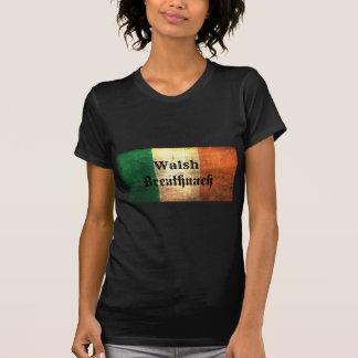 Camiseta Bandera del irlandés de Walsh