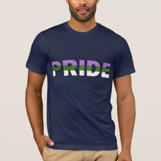 Camiseta Bandera del orgullo de Genderqueer