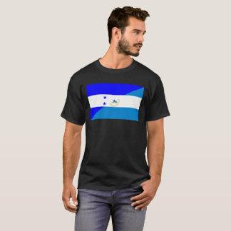 Camiseta bandera del país de Honduras Nicaragua media