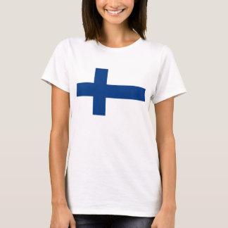 Camiseta Bandera finlandesa