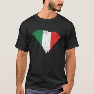 Camiseta Bandera italiana sobre Carolina del Sur