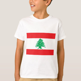 Camiseta Bandera libanesa - bandera del علملبنان de Líbano